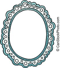 Decorative frame border design