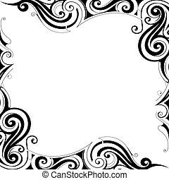 Decorative frame border