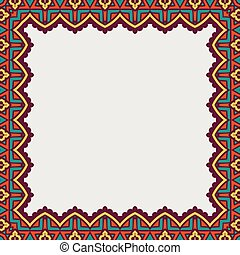 decorative frame. Vector