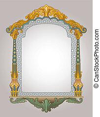 Decorative Frame - Vector illustration of decorative frame
