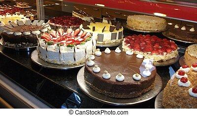 Decorative German Cakes. Scrumptious!