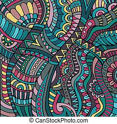 ethnic vector pattern