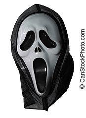 decorative halloween mask phantom black
