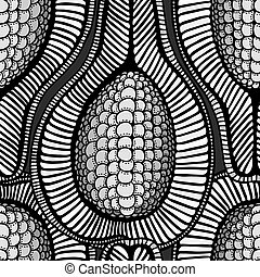 sketchy seamless pattern