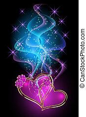 Decorative hearts