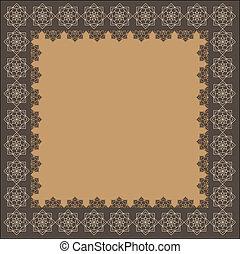 decorative indian frame