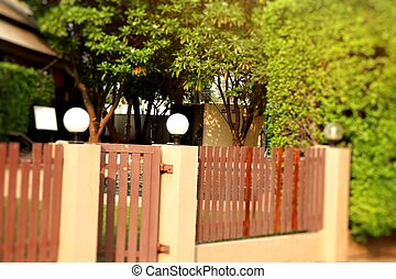 Decorative Lamp side street