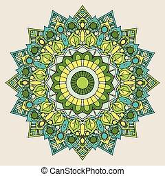 decorative mandala background 1508 - Decorative mandala...