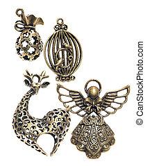 pendants - decorative metal pendants