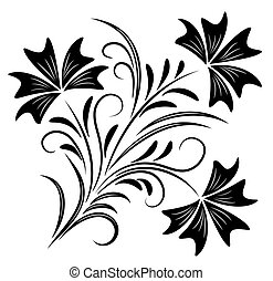 Decorative ornament for various design artwork