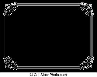 decorative ornate border