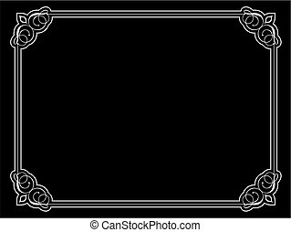 decorative ornate border