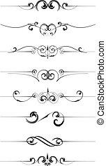 Decorative page rulesv
