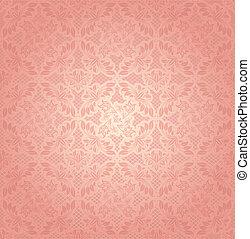 Decorative pink ornament