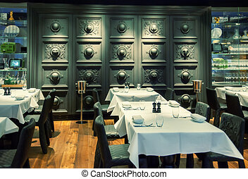 decorative restaurant wall - decorative wall in Amsterdam's...