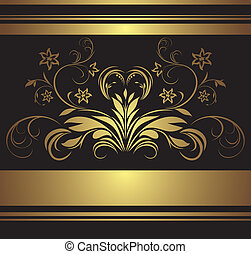 Decorative retro background