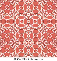 Decorative Retro Seamless Red Pattern