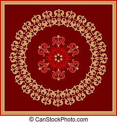 decorative rosette
