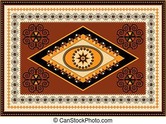 Decorative rug designs in oriental - Oriental design for the...