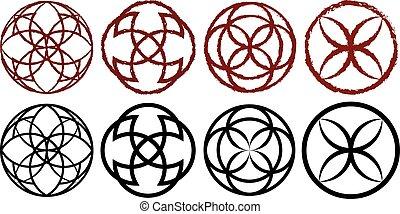 Decorative runes