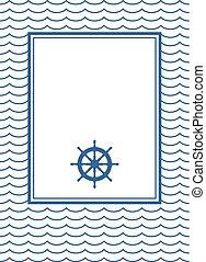 Decorative sailor frame