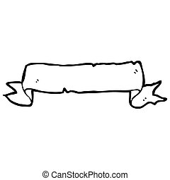 decorative scroll cartoon