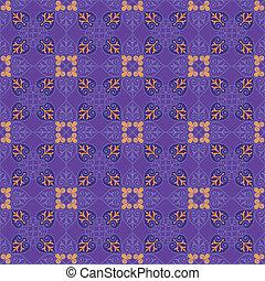 Decorative Seamless Floral Pattern