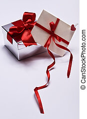 gift with envelope