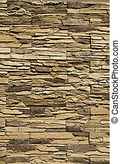 decorative stone wall