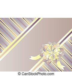 Decorative striped background