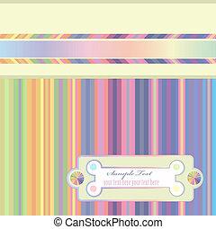 striped rainbow background
