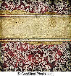 Decorative Stripes Background