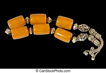 Decorative traditional chaplet isolated