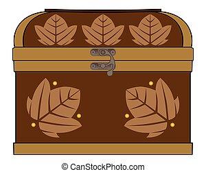 Decorative Treasure Chest - A wooden treasure chest suitable...