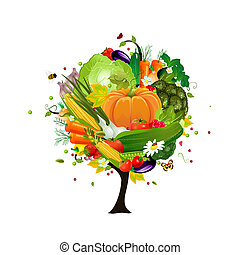 decorative tree vegetable