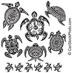Decorative turtles
