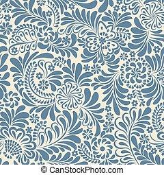 decorative ukrainian motif seamless pattern