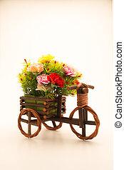 Decorative vase with flowers
