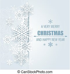 Decorative vector Christmas background