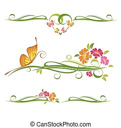 Decorative vector ornament