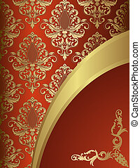 Decorative vintage background.