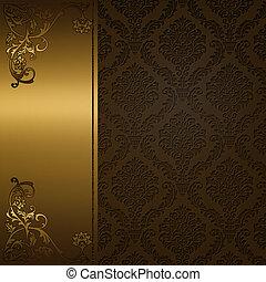 Decorative vintage background