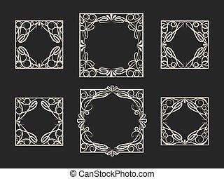 Decorative Vintage Frame Set