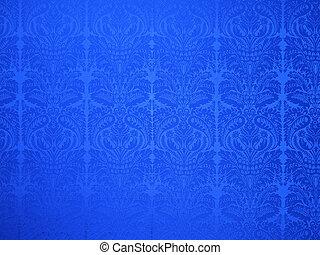 decorative vintage wallpaper background - decorative blue...