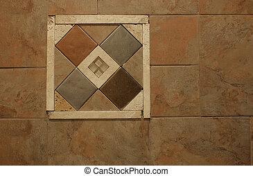 Decorative Wall Tile Inlay #2