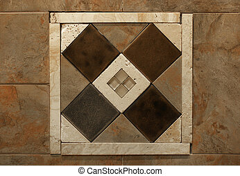 Decorative Wall Tile Inlay #4