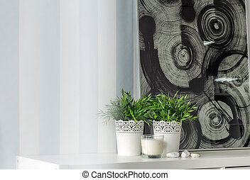 Decorative wallpaper with strips - Image of decorative ...