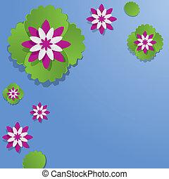 Decorative Waterlily Flowers