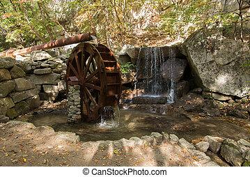 decorative waterwheel