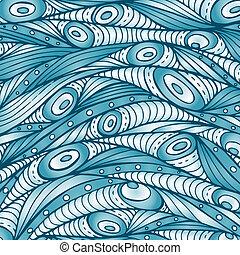 Decorative waves background.